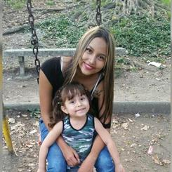 Elizabeth, Au pair from Colombia