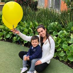 Angie, Au pair from Colombia