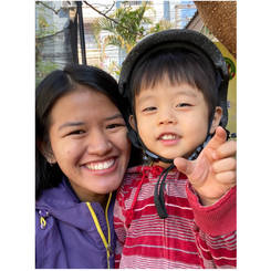 Natchaya, Au pair from Thailand