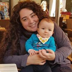 Tania, Au pair from Spain