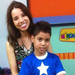 Thaina, Au pair from Brazil