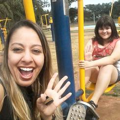 Milena, Au pair from Brazil
