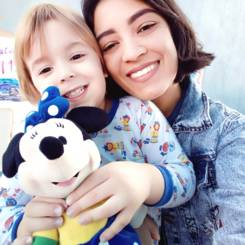 Raabe, Au pair from Brazil