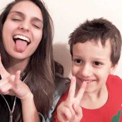 Marcela, Au pair from Brazil