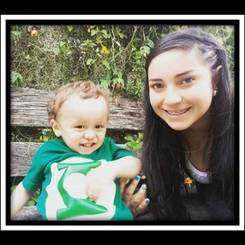 Neida, Au pair from Colombia