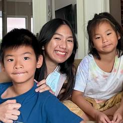 Chayanan, Au pair from Thailand