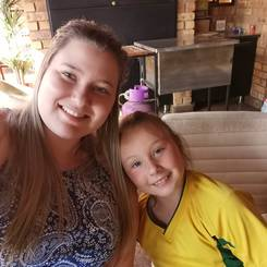 Marlome, Au pair from South africa