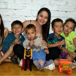 Katherine, Au pair from Colombia