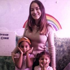 Lorena, Au pair from Venezuela