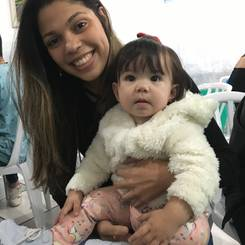 Andressa, Au pair from Brazil