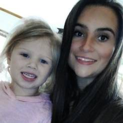 Tinelle, Au pair from South africa