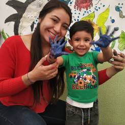 Anyi, Au pair from Colombia