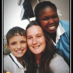 Chanique, Au pair from South africa