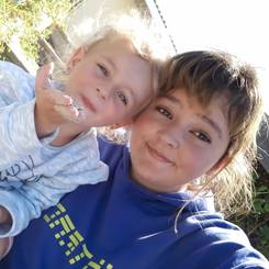 Aimelize, Au pair from South africa