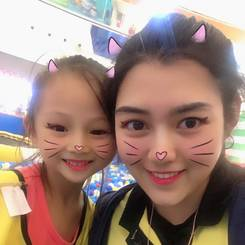 Lianqi, Au pair from China
