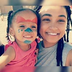 Chante, Au pair from South africa