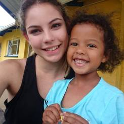 Kyra, Au pair from South africa