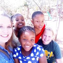 Danell, Au pair from South africa