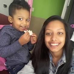 Nadia, Au pair from South africa
