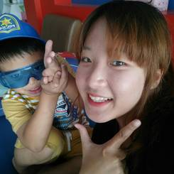 Phawharun, Au pair from Thailand