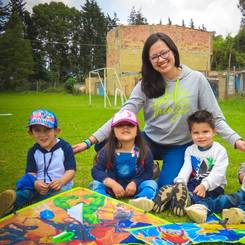 Dafnne, Au pair from Colombia
