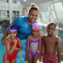 Iemaan, Au pair from South africa