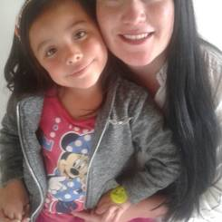 Yenny, Au pair from Colombia