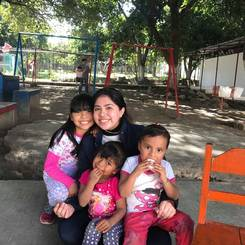 Silvia, Au pair from Mexico