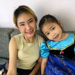 Kornpitchaya, Au pair from Thailand