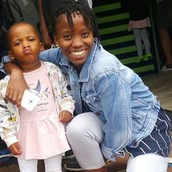 Phiwokuhle, Au pair from South africa