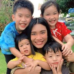 Supinya, Au pair from Thailand