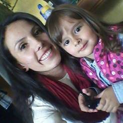Milena, Au pair from Colombia