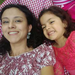 Paloma, Au pair from Colombia
