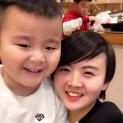 Yan, Au pair from China