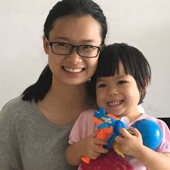Wanting, Au pair from China