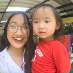 Thanaporn, Au pair from Thailand