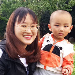 Yang, Au pair from China