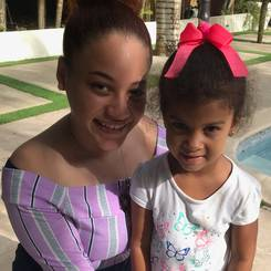 Penelope, Au pair from Dominican republic