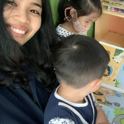 Marinyaporn, Au pair from Thailand