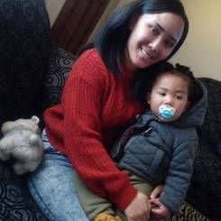 Tamiera, Au pair from South africa
