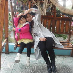 Guirong, Au pair from China