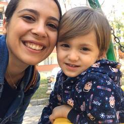 Seren, Au pair from Turkey