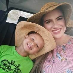 Annika, Au pair from South africa