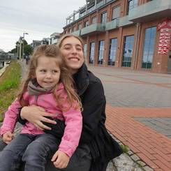 Fay, Au pair from Germany