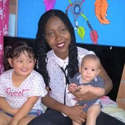 Yurany, Au pair from Colombia
