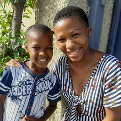 Samukelisiwe, Au pair from South africa