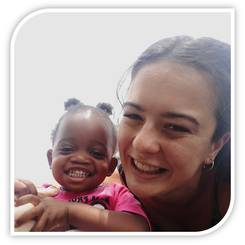 Tamarin, Au pair from South africa