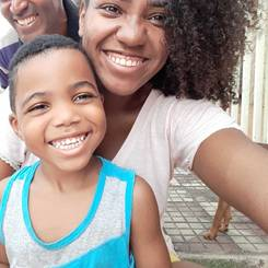 Cecilia, Au pair from Brazil