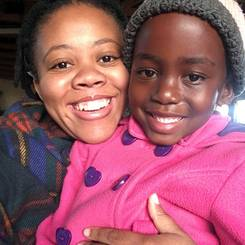 Reitumetse, Au pair from South africa